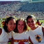Me, Jen, Rach at SC game