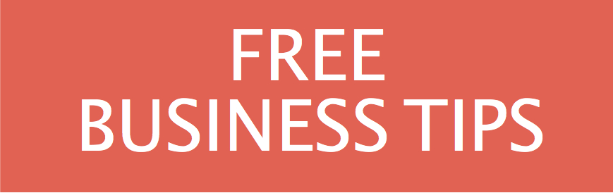 Business - JOY banners and buttons - free tips small