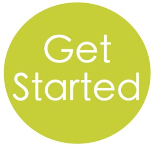 Get Started button - Business
